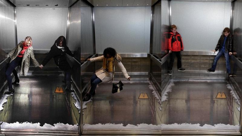 лифт Лифт без дна в Лондоне