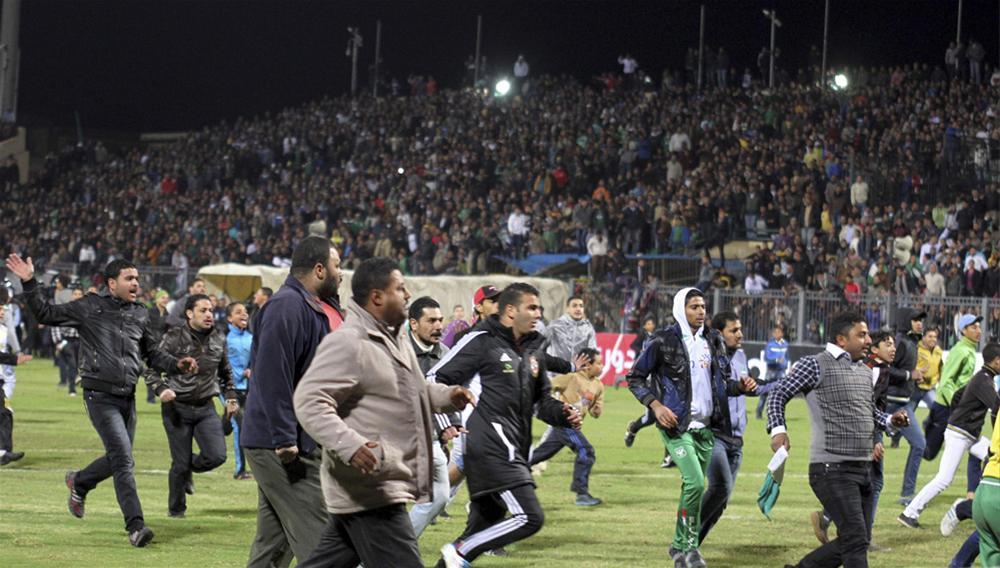 0000323665 Футбол в Египте: бойня на стадионе в Порт Саиде