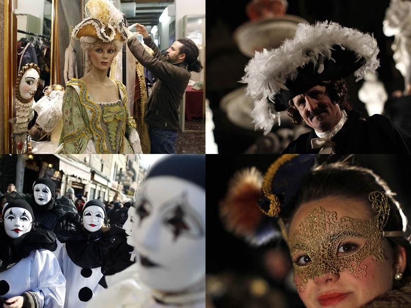 0001 Карнавал в Венеции