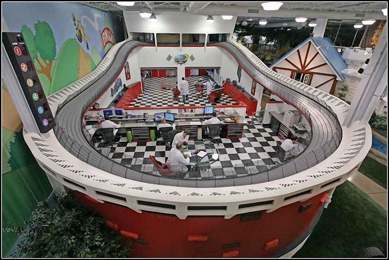 00116 Не просто место работы: Самые необычные офисы