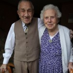 Британская пара отмечает 82-ю годовщину свадьбы