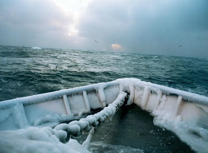 00225 Кори Арнолд. Добыча краба, трески ипалтуса вБеринговом море