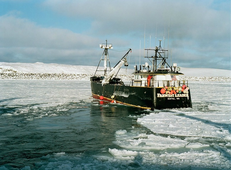 00324 Кори Арнолд. Добыча краба, трески и палтуса в Беринговом море