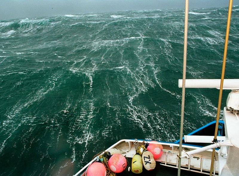00425 Кори Арнолд. Добыча краба, трески ипалтуса вБеринговом море
