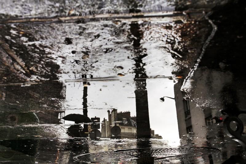 Париж под дождем. Фотограф Кристоф Жакро