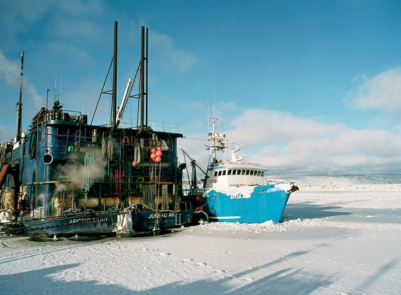 00723 Кори Арнолд. Добыча краба, трески и палтуса в Беринговом море