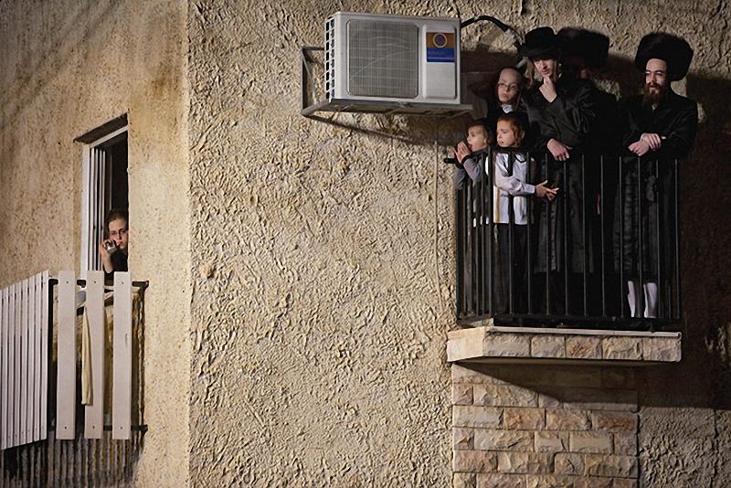 00919 Свадьба еврейских ортодоксов