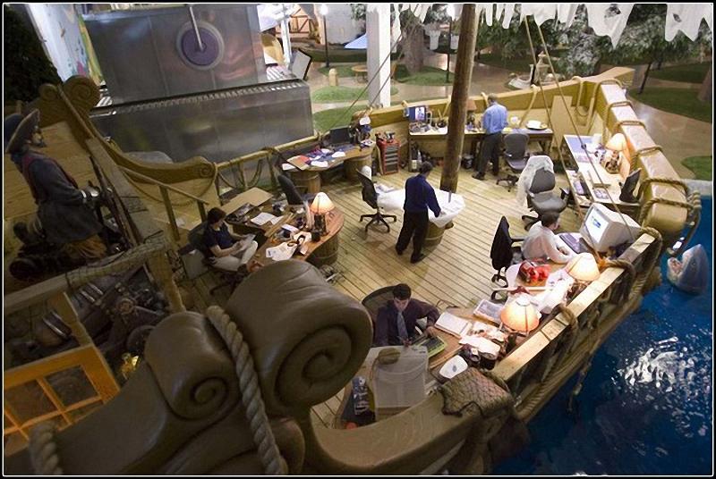 01115 Не просто место работы: Самые необычные офисы