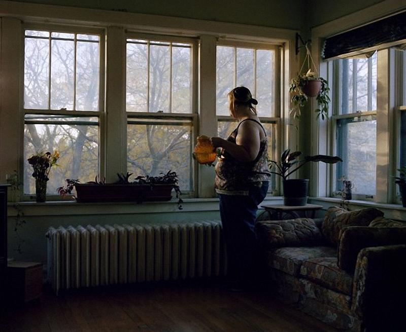 015 Фотограф Джен Дэвис: История человека, запертого в своем теле