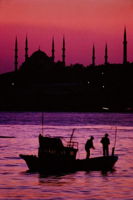 0154 Стамбул в цвете: Фотограф Ара Гюлер
