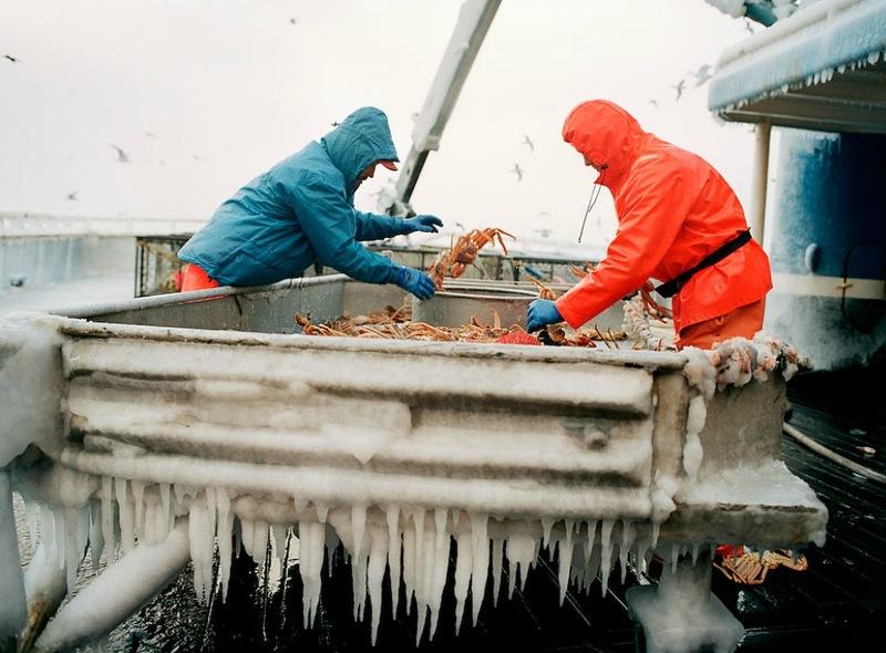 01818 Кори Арнолд. Добыча краба, трески и палтуса в Беринговом море