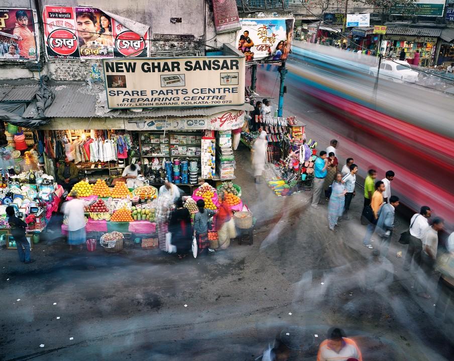 0210 Суматоха больших городов в фотопроекте Metropolis