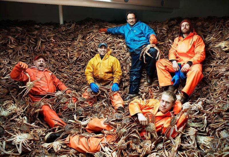 Кори Арнолд. Добыча краба, трески и палтуса в Беринговом море