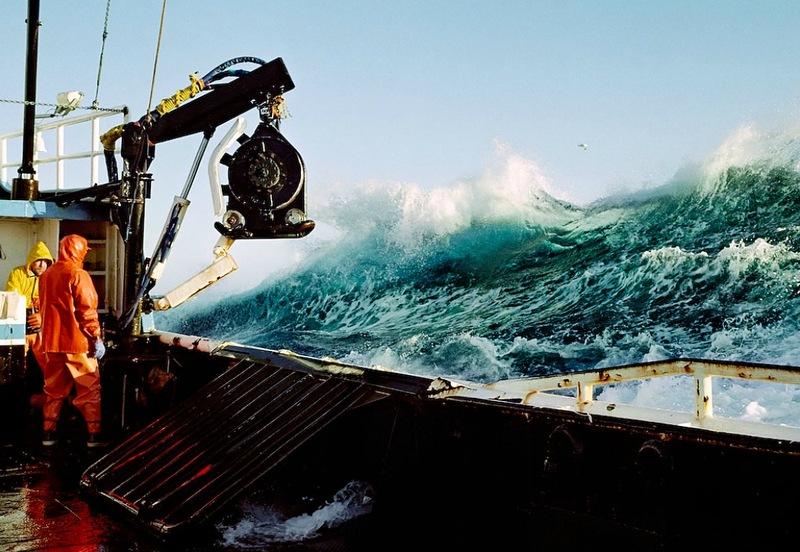 02610 Кори Арнолд. Добыча краба, трески и палтуса в Беринговом море
