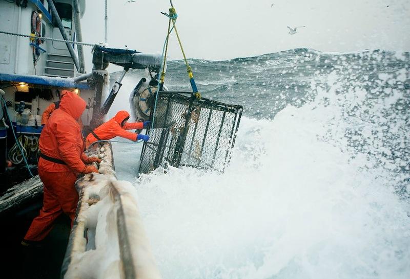 0297 Кори Арнолд. Добыча краба, трески и палтуса в Беринговом море