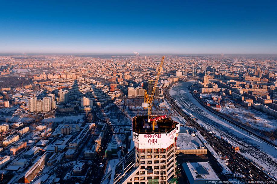 0310 Москва Сити с воздуха