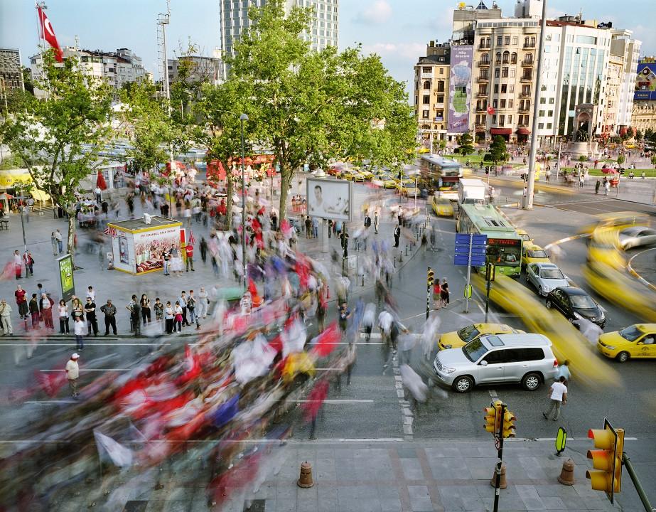033 Суматоха больших городов в фотопроекте Metropolis