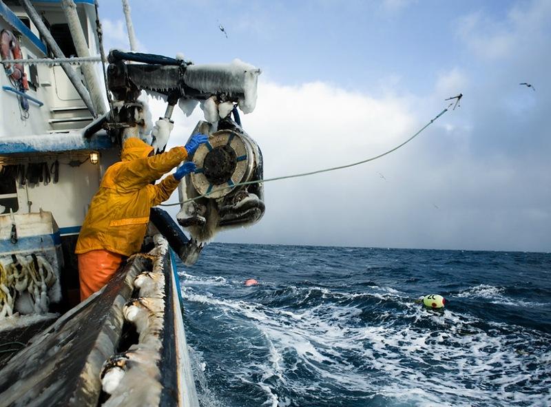 0344 Кори Арнолд. Добыча краба, трески и палтуса в Беринговом море