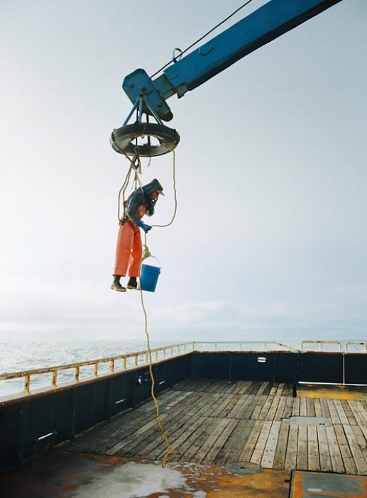 0364 Кори Арнолд. Добыча краба, трески ипалтуса вБеринговом море