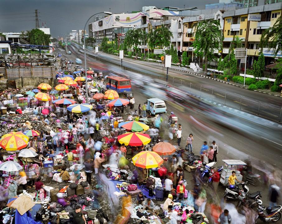 041 Суматоха больших городов в фотопроекте Metropolis