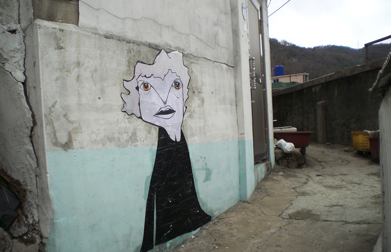 05240000 Абстрактный стрит арт от Junkhouse