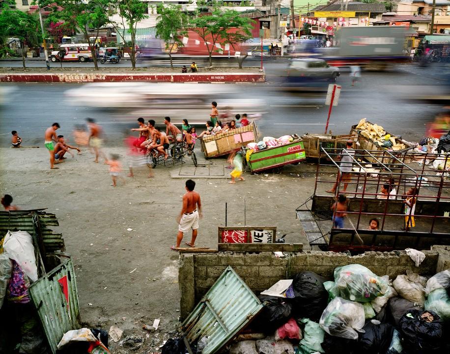 061 Суматоха больших городов в фотопроекте Metropolis