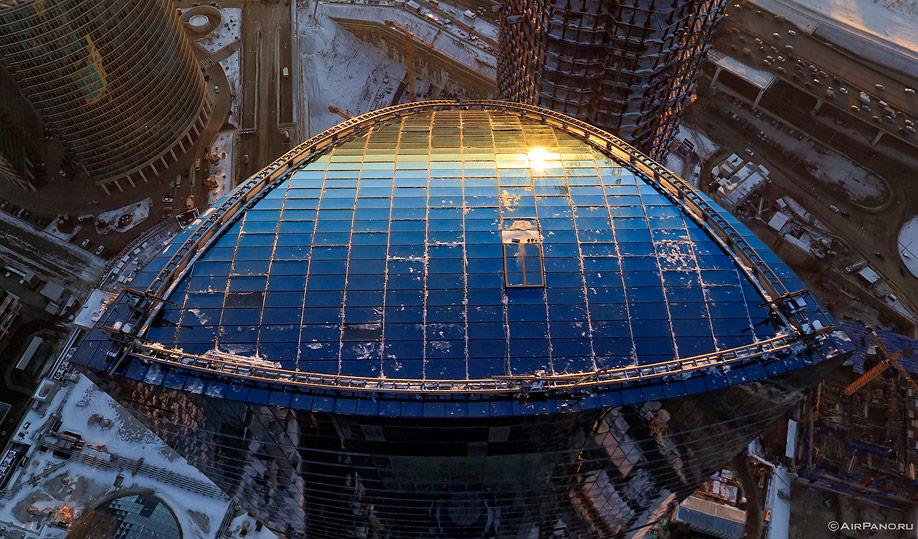 066 Москва Сити с воздуха