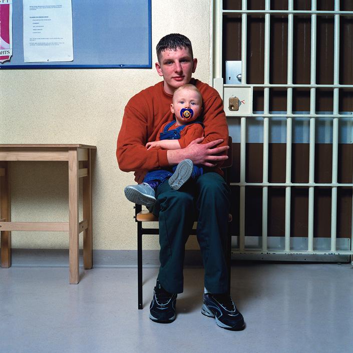Эдрю (17 лет) и Хлоэ (11 месяцев)Когда меня посадили, было очень