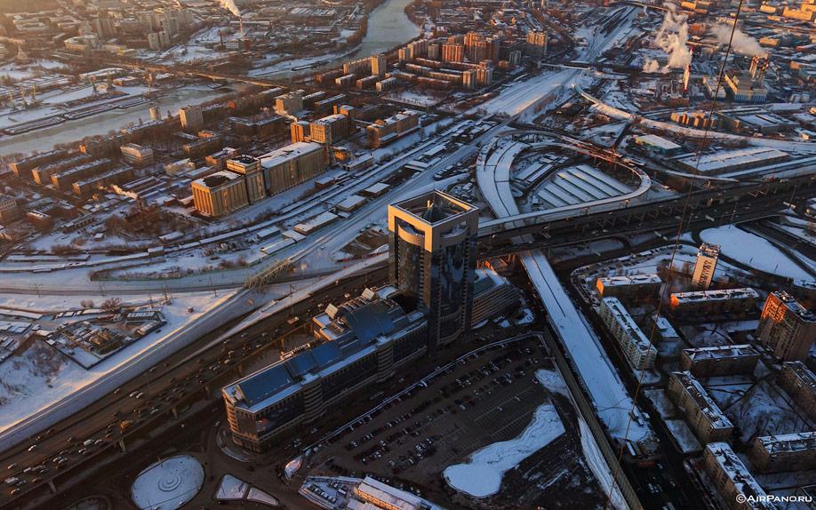 094 Москва Сити с воздуха
