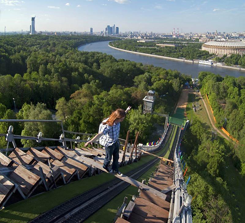 10109 Экстремальный городской альпинизм в России
