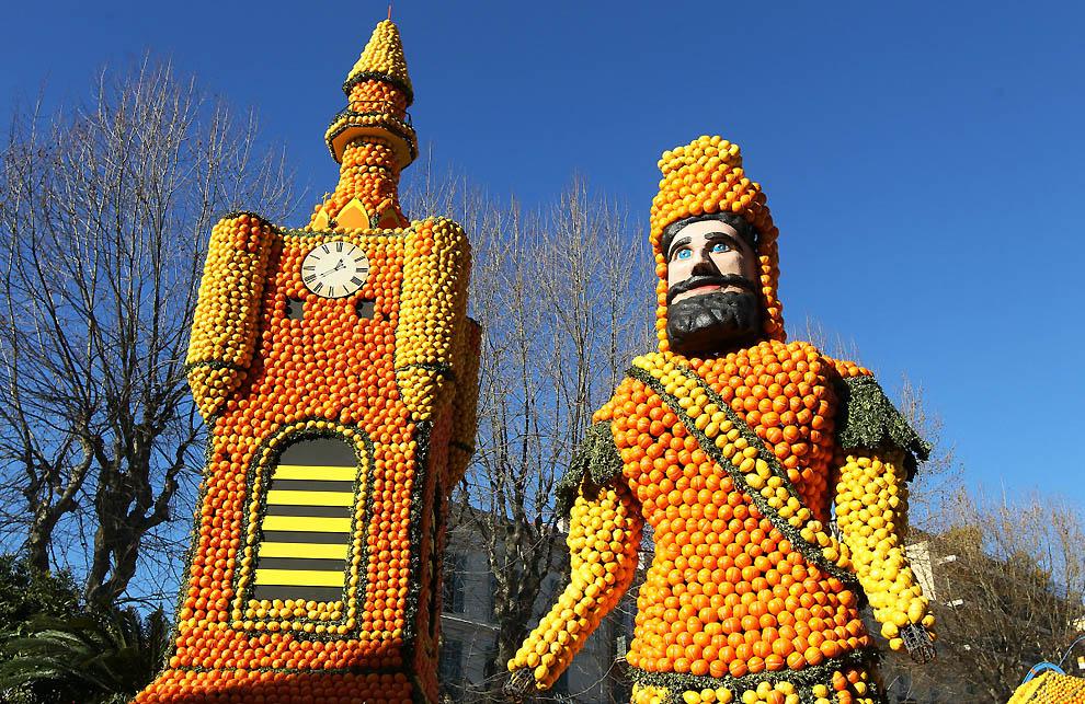 10114 Цитрон   лимонный фестиваль во Франции
