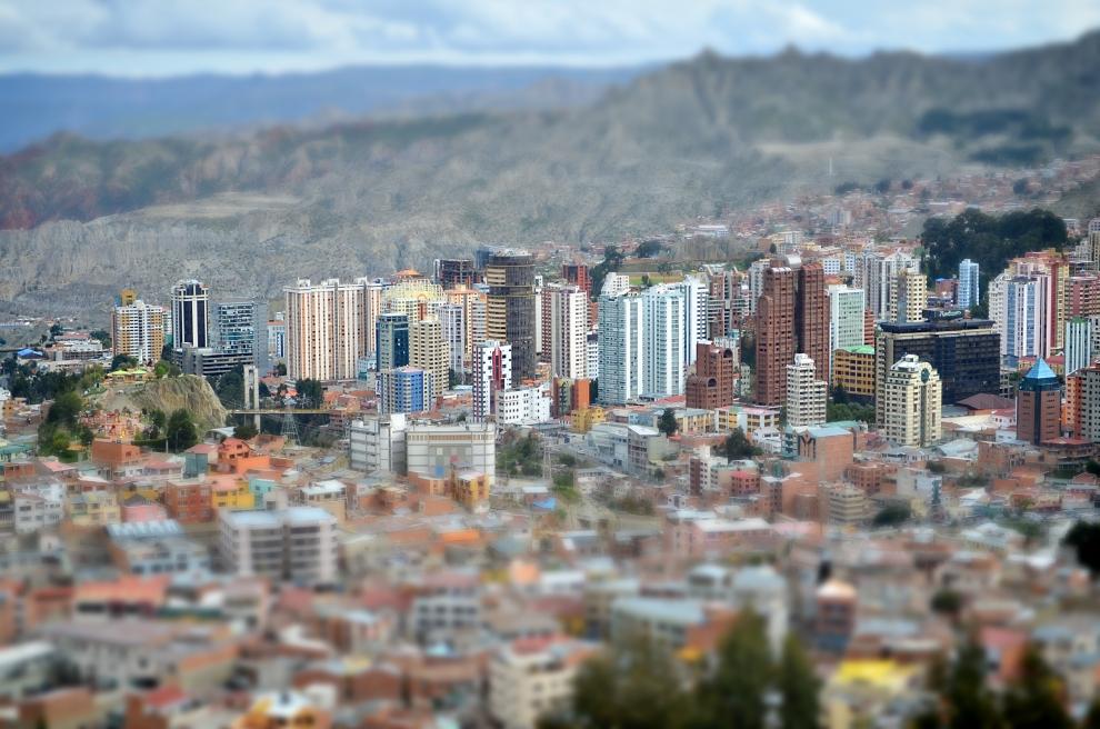 10118 Ла Пас   самая высокогорная столица мира с высоты