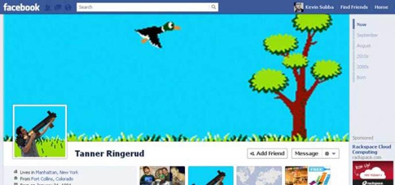 1057 25 забавных и креативных обложек приложения Timeline для Facebook