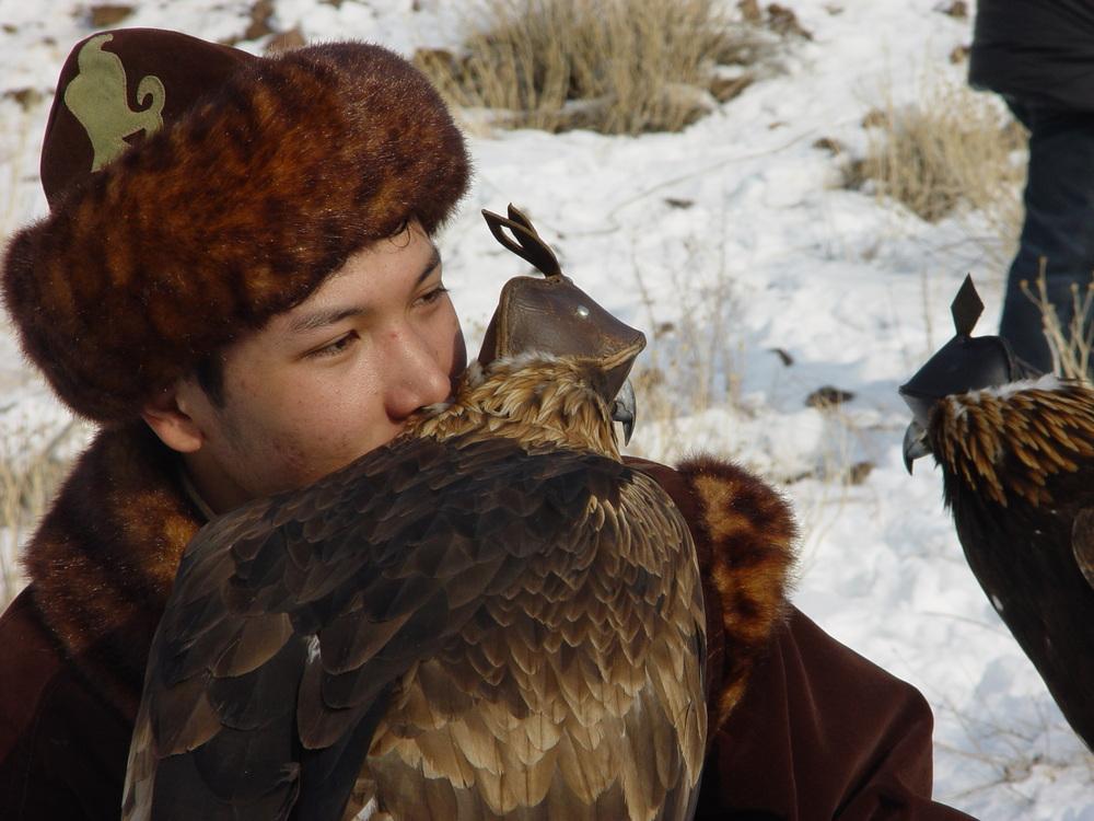 1079 Фоторепортаж с соревнований по охоте с ловчими птицами