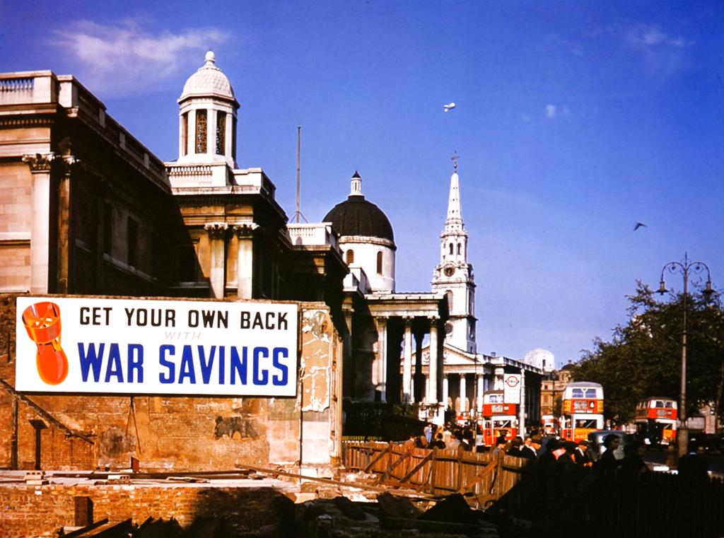 1103 Цветные фото Лондона времен Второй мировой