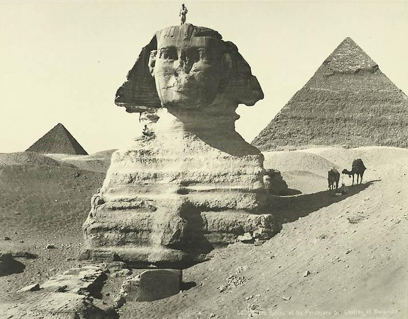 1106 Фотографии из Египта 1870 х годов