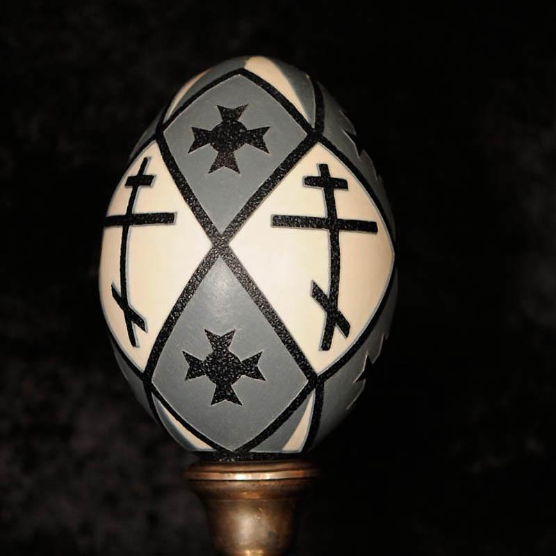 11104 Ажурные шедевры: Резная яичная скорлупа от Брайан Бэйти