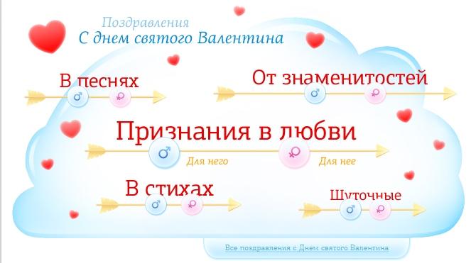 Выразите свои чувства оригинально в День святого Валентина!