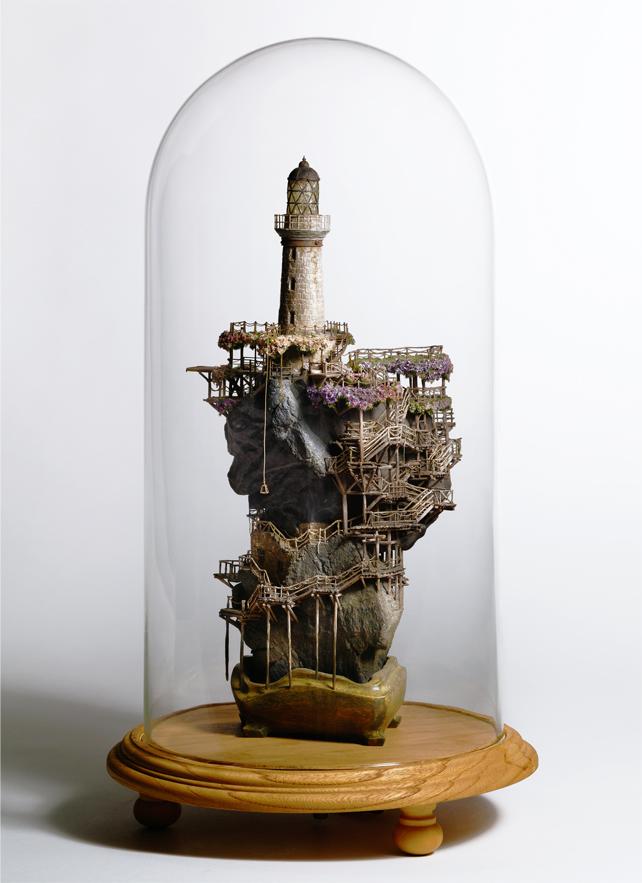 11133 Города под колпаком   удивительные работы Таканори Аибы