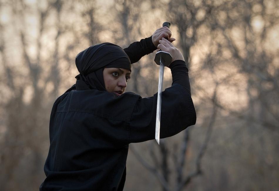 11139 Иранские женщины ниндзя