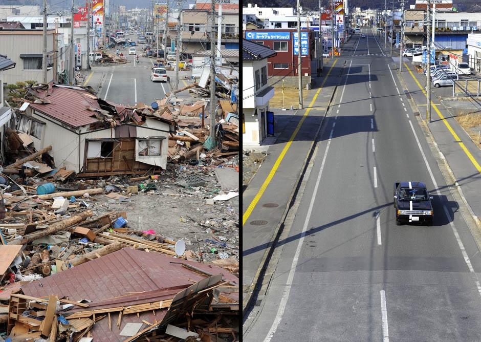 11149 Как Япония восстановилась после землетрясения и цунами