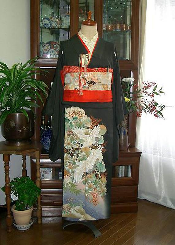 11162 Свадебные кимоно конца 19   начала 20 века