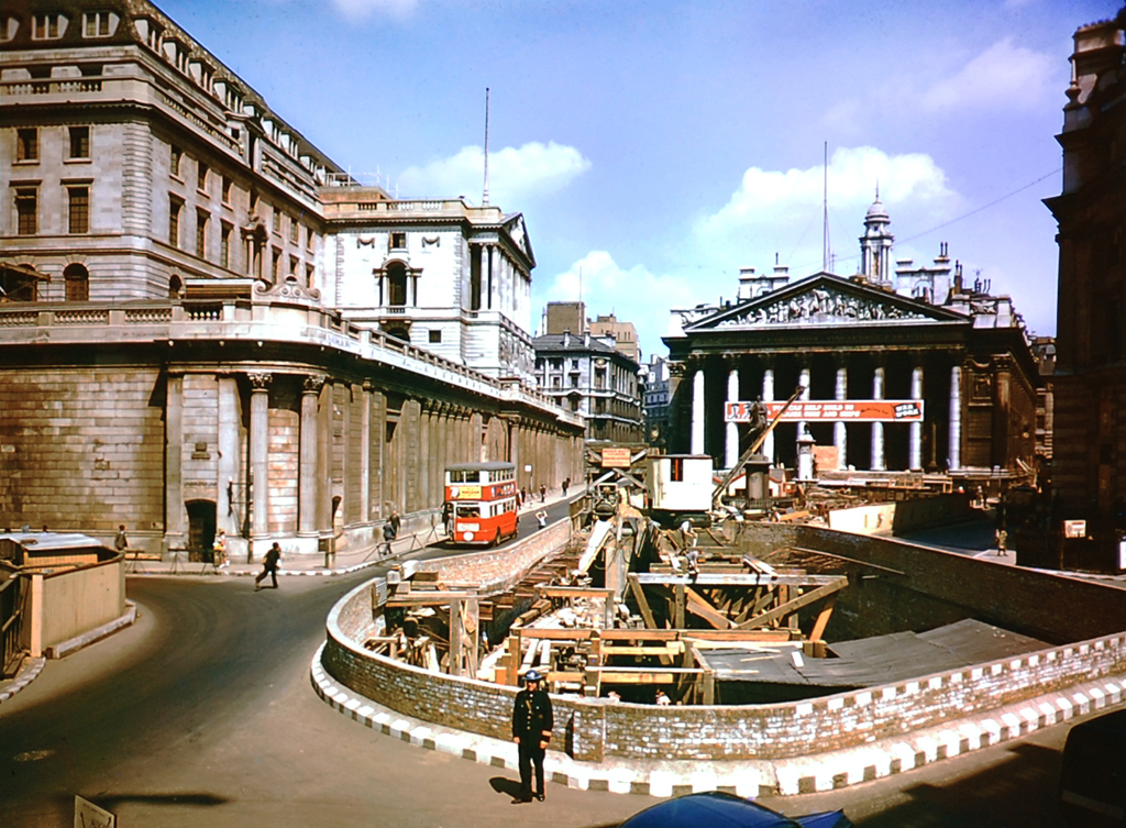 1121 Цветные фото Лондона времен Второй мировой