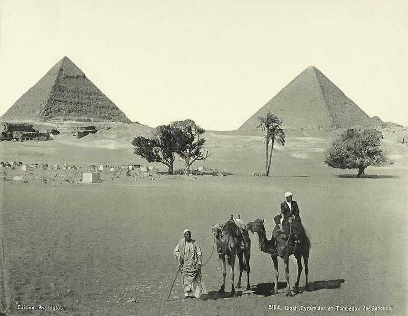 1124 Фотографии из Египта 1870 х годов
