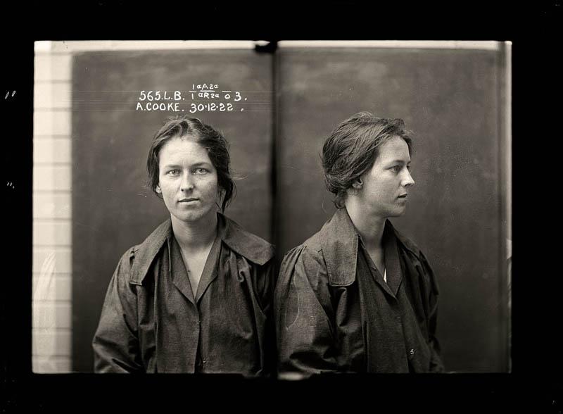 1154 Австралийские преступницы начала 20 го века