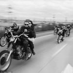 """Фотографии байкерского клуба """"Ангелы ада"""", 1965 год"""