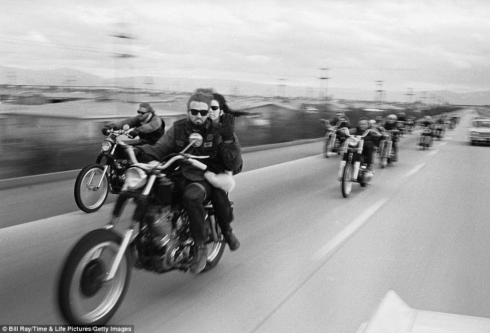 119 Фотографии байкерского клуба Ангелы ада, 1965 год