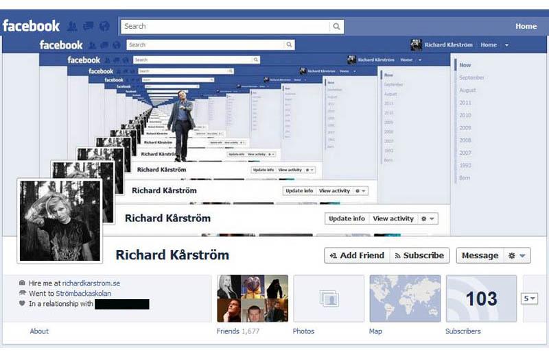 1190 25 забавных и креативных обложек приложения Timeline для Facebook
