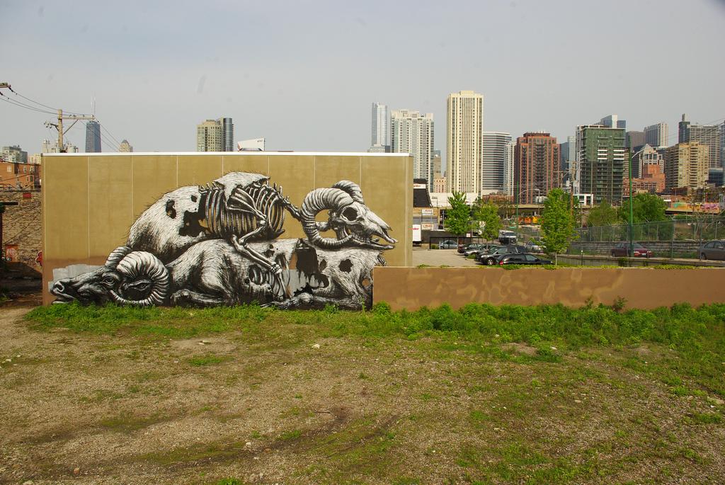 11900000 Животный стрит арт от бельгийского граффитчика ROA