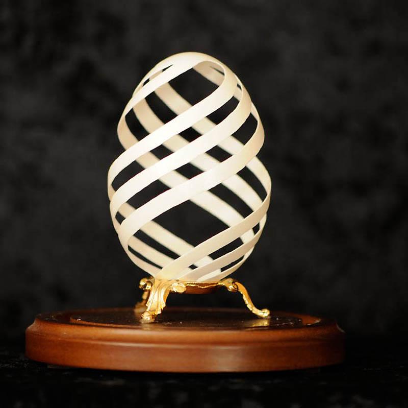 1203 Ажурные шедевры: Резная яичная скорлупа от Брайан Бэйти